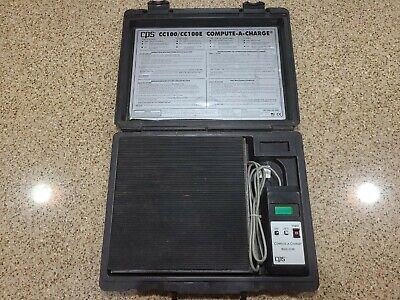 Cps Cc100 Compute A Charge Hvac Refrigerant Scale-freon Scale
