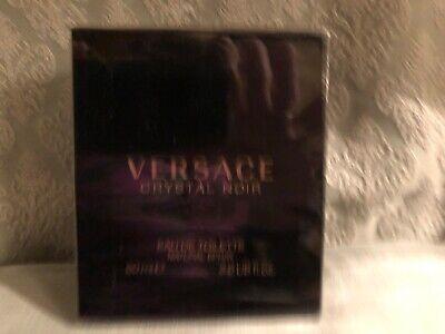 Versace Crystal Noir For Women Eau de Toilette 90ml in original packaging