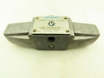 Vickers Dg4s4-017c-50 Hydraulic Directional Control Solenoid Valve 120v
