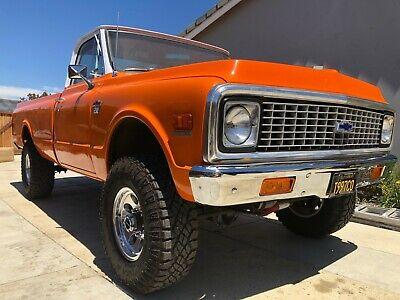 1971 Chevrolet C/K Pickup 2500  1971 Chevrolet C/K 20 4X4