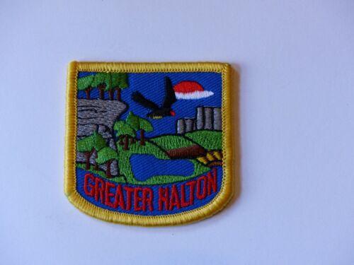 Unused Vintage Greater Halton Ontario Scouts Canada Boy Scout District Badge