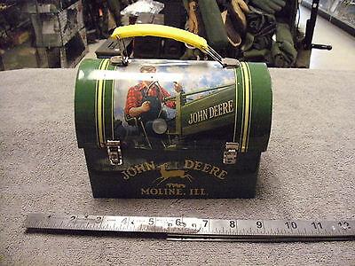Small John Deer  Tin Lunch Box