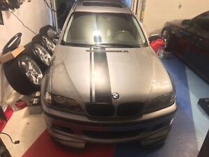 BMW E46 M-TECH WAGON PART OUT