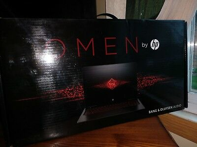 New HP Omen 15-ax250wm IPS Gaming Laptop 1TB 12GB i7 NVIDIA GTX 1050Ti