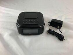 iHome Bluetooth Stereo Dual Alarm Clock Speakerphone Wireless Charging iBTW23