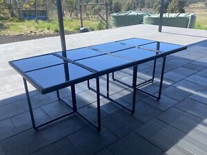 Brand new wicker outdoor dining table set