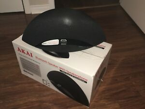 AKAI bluetooth speaker hands free calls desktop microphone NEW!