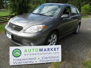 2007 Toyota Matrix XR, Auto, Moon, Load Warr