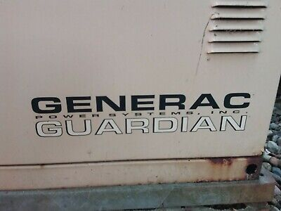 Generac Power Systems Guardian 0043891 7 Kw Residential Standby Generator