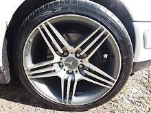 AMG MERCEDES MAG WHEELS AND WHEEL NUTS ON TYRES Mount Gravatt Brisbane South East Preview