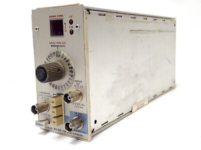 Tektronix Tg501 Tg 501 Time Mark Generator Plug In W Opt 1 For Tm500 As-is