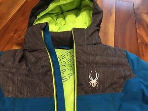 Boys Spyder Winter Jacket Size 10