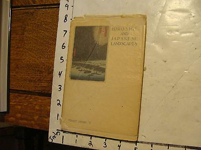 Антикварные и коллекционные vintage book: HIROSIGE