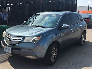 Acura MDX 2007 technology package