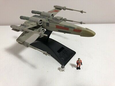 Star Wars ACTION FLEET  Battle Damage X-wing Fighter Micro Machines Galoob 1997