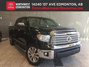 2016 Toyota Tundra Limited | Heat Seat | CrewMax | Leather |Sunr