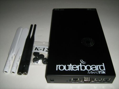 Mikrotik RB800 Wireless Access Point with two R52n-M Cards & Four Antennas (#1)