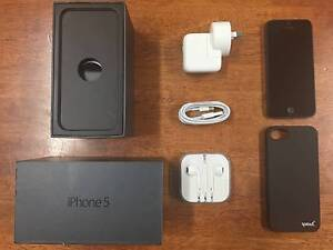 iPhone 5 32GB (Space Grey) Marrickville Marrickville Area Preview