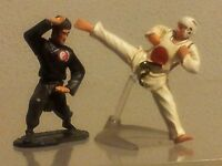 Kung Fu Taekwondo Plastic Figures Miniature. About 3, High -  - ebay.es