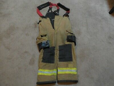 36x29 Pants Firefighter Turnout Bunker Fire Gear With Suspenders Fire-dex