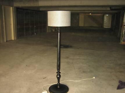 Wooden floor lamp floor lamps gumtree australia inner sydney old wooden floor lamp aloadofball Gallery