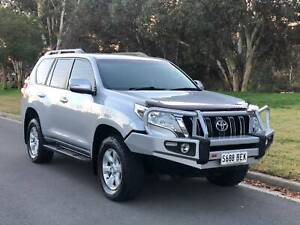 2015 TOYOTA LANDCRUISE PRADO GXL AUTO 7 SEATS TOW BULL BAR Torrensville West Torrens Area Preview