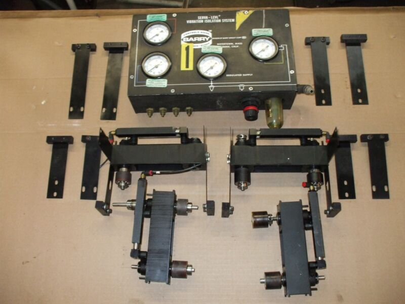 Vibration Isolation System Applied Power Inc.two Barry Serva-level