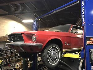 1968 Ford Mustang with 289 engine and manual transmission