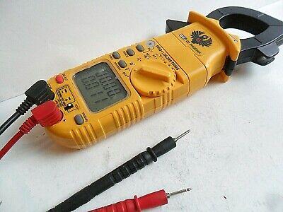 Very Clean Used Uei Dl389 Pro Digital Clamp Meter Trms Multimeter Leads Works