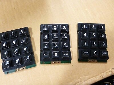 Lot 3x 3x4 Matrix 12 Button Keypad Keyboard Module Raspberry Pi - Esk3x4bbwec