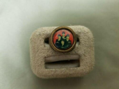 Vintage The Beatles Adjustable Novelty Ring.