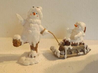 Trineo Muñeco de Nieve Navidad Decoración de Navidad Invierno 13 9 7...