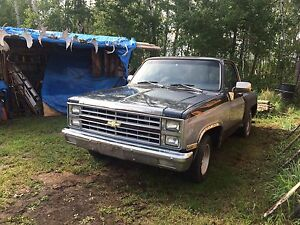 1982 chevy c10 project