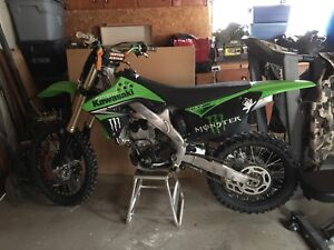 2009 KX250F with low hrs