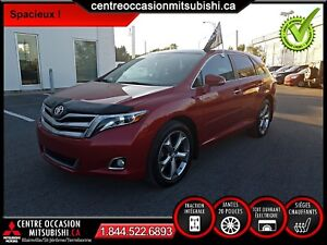 Toyota Venza LIMITED 2014, CUIR, TOIT PANO, BLUETOOTH, 4X4, V6
