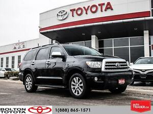 2016 Toyota Sequoia Limited 5.7L|1-Owner|Navigation|Sunroof
