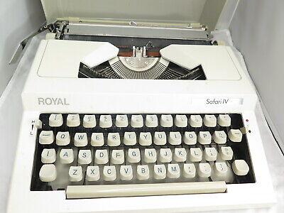 Royal Safari Iv Typewriter