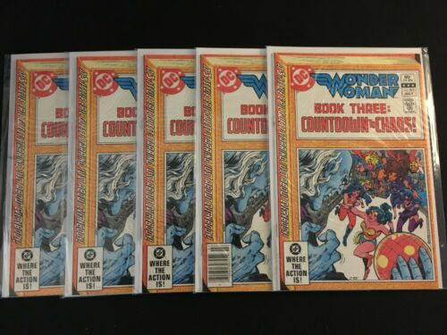 WONDER WOMAN #293 Five Copies F+ Condition