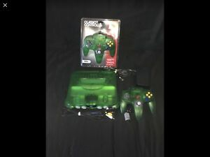 Nintendo 64 Jungle Green N64
