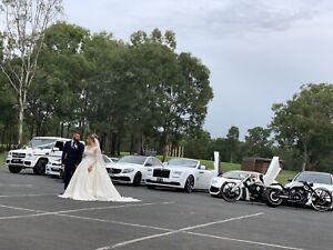 Formal wedding luxury car hire