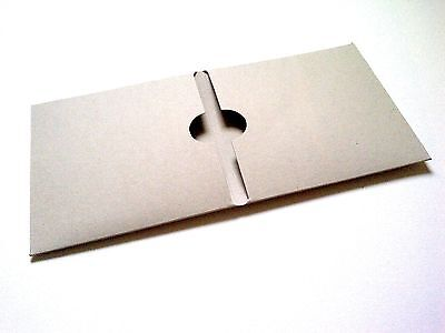 100 Natural recycled card Double CD DVD sleeve/wallet/cover Unbranded/Blank