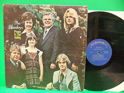 The Hanleys Peace In The Valley 1970's VG+ LP Sing Skylite 9090 Christian Gospel