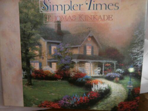 "Book: ""Simpler Times"" by Thomas Kinkade"