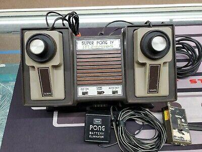 Vintage Atari Super Pong IV Tele-Games (Sears) untested