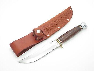 Vtg Ka-bar Cleveland OH 1237 Seki Japan Fixed Blade Skinner Hunting Knife