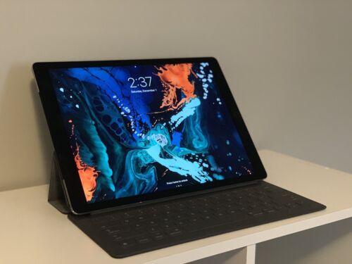 Apple iPad Pro 1st Gen. 128GB, Wi-Fi + Cellular (Unlocked), 12.9in - Space Gray