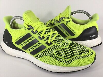competitive price 6dbf3 fbd56 Adidas Ultra Boost 1.0 PK Solar Yellow Black White Mens Size 9 Rare S77414
