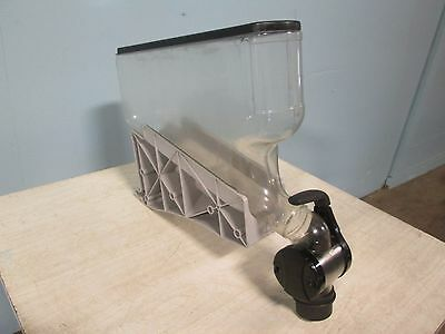 H.d. Commercial Acrylic Coffee Beancandygrain Gravity Fed Display Dispenser