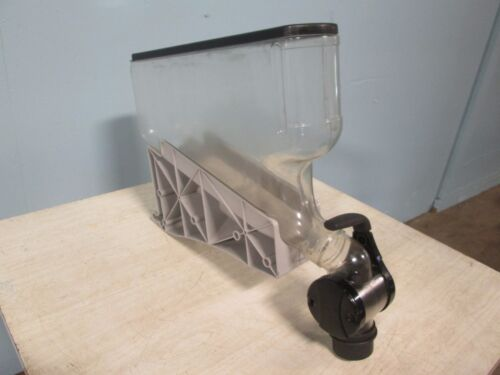 H.D. COMMERCIAL ACRYLIC COFFEE BEAN/CANDY/GRAIN GRAVITY FED DISPLAY DISPENSER