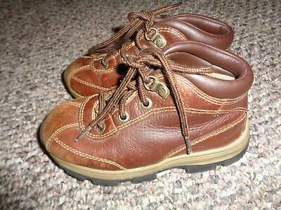 Thom McAn Boys' Brown Leather Boots Sz 8W
